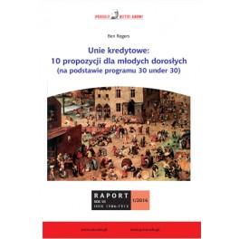 Unie kredytowe:  10 propozycji dla młodych dorosłych - Ben Rogers